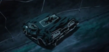 The Impala, damaged (Devil's Trap) (Anime)