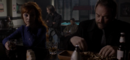 Crowley in the bar