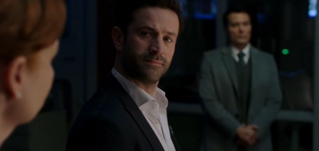 File:Mick is confronted by Doctor Hess and Arthur Ketch at the headquarters 12x17 1.png