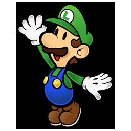Luigi paper mario kart-1-