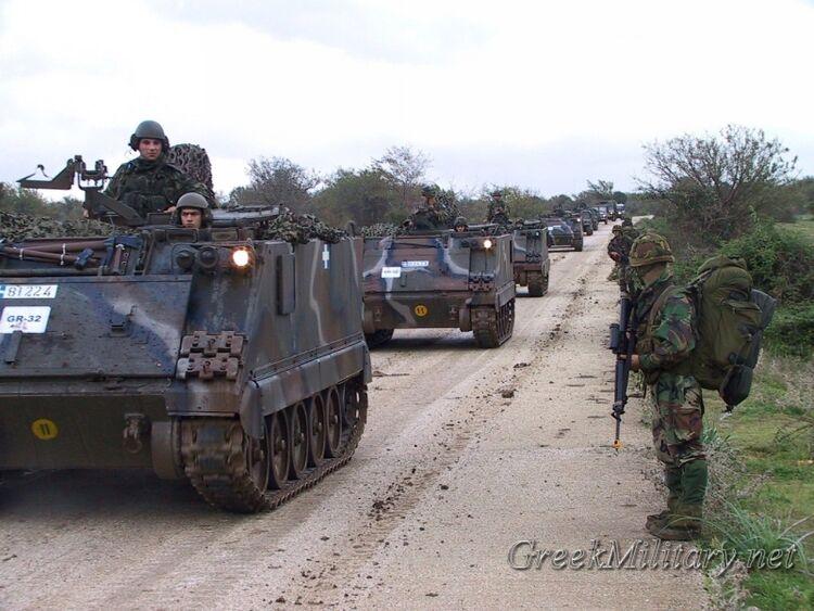 Greek Tanks Dutch Mariens