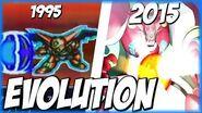 Evolution of STONER SUNSHINE (1995-2015) スーパーロポット大戦 SRW