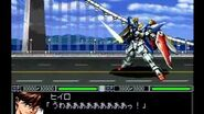 Shin SRW - New Mobile Report Gundam Wing All attacks