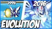 Evolution of COSMO NOVA (1993-2016) コスモノヴァ SRW