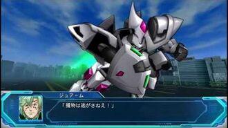 Super Robot Taisen Original Generation Moon Dwellers - Ganjarl & Vorlent Attacks