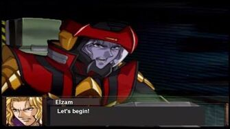 Super Robot Wars OG Gaiden - Guarlion Trombe All Attacks (English Subs)