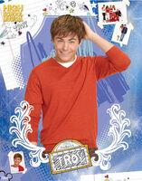 Lgmpp50180+troy-bolton-portrait-high-school-musical-mini-poster