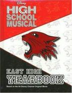 Disney-high-school-musical-east-yearbook-emma-harrison-hardcover-cover-art
