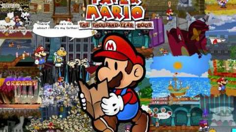 Paper Mario The Thousand Year Door OST 129 World of Darkness