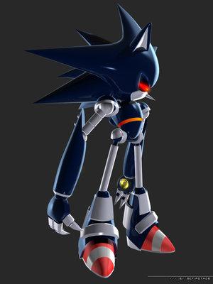 Titanium Mecha Sonic
