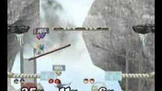Super Smash Bros. Melee- Icicle Mountain