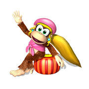 Diddy Kong Racing DS Dixie