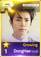 Donghae V Growing R