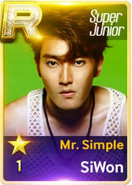 MR Simple Siwon