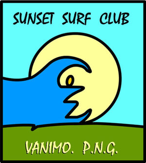 Vanimo surf club logo