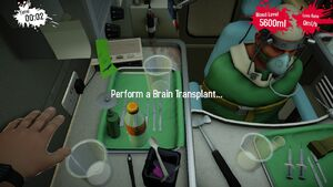 Brain Left Ambulance
