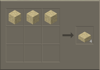 Sandstone Slab craft