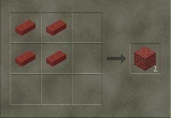 Brick Wall craft
