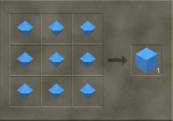 Solid Diamond Block craft