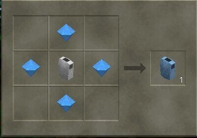 Diamond chest plate