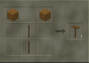 Wooden Rake craft