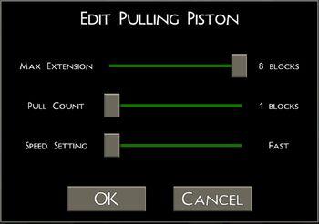 Pulling Piston UI