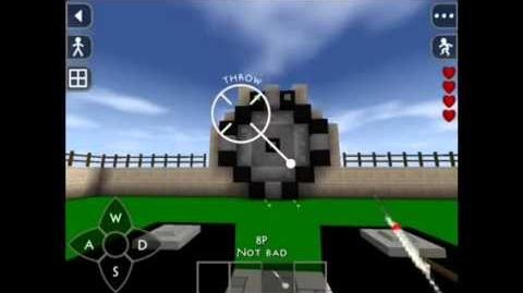 Survivalcraft game for 2 players - Darts