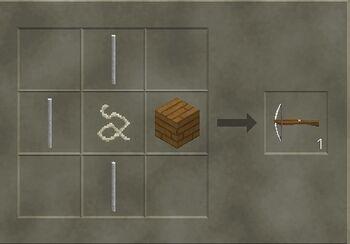 Craft a crossbow