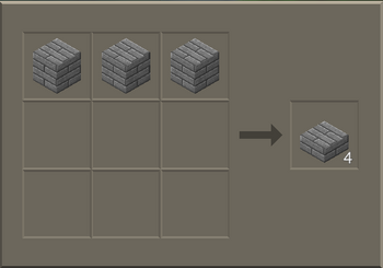 Stone Brick Slab craft