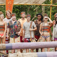 The Vanua tribe at the Immunity Challenge.