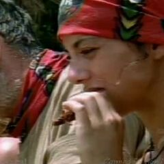 Jenna competes for the final eight individual immunity.