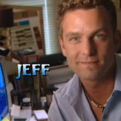 Jeff is introduced to the show.