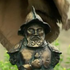 <i>Survivor: Nicaragua</i> Immunity Idol, a bust of a conquistador.