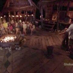 The tribe's first Tribal Council.