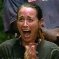 Helen is overjoyed upon seeing her husband, Jim.