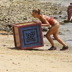 Abi-Maria competing in <i><a href=