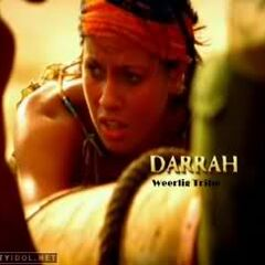 Darrah in the opening sequence