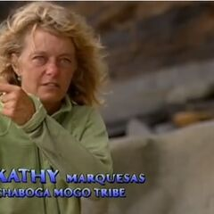 Kathy making a confessional about Rob.