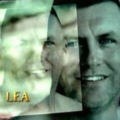 Lea's photo shot in the opening credits.