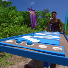 Tasha competing in 5th Immunity Challenge, <a href=