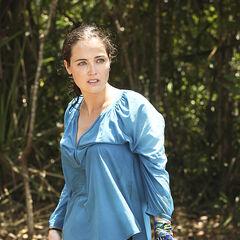 Liz at camp.