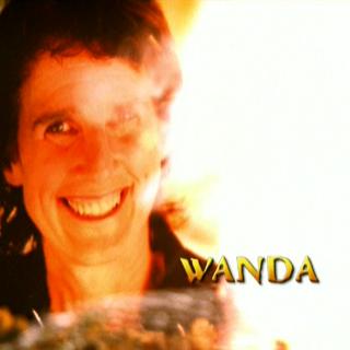 Wanda's burning photo in the opening.