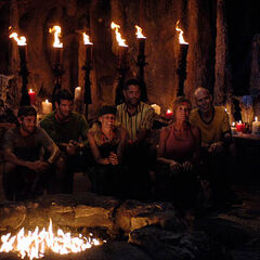 La Mina's second Tribal Council.