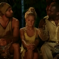 Jaison and Ben argue at Tribal Council