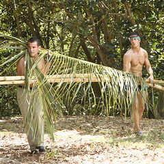 David and Garett working at Luzon