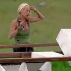 Debbie memorizing the symbols.
