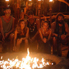 Chaboga Mogo's fifth Tribal Council.