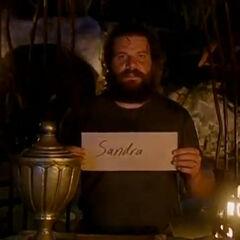 Rupert voting for Sandra.