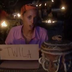 Eliza's third and final vote against Twila.