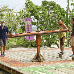 Vanua competing in the sixth Immunity Challenge, <i><a href=